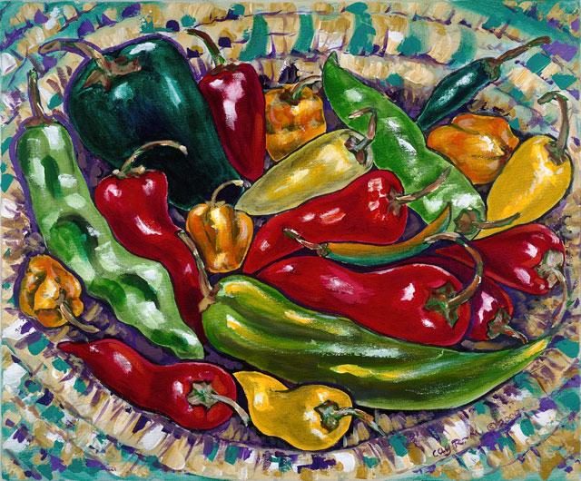 Chili Painting