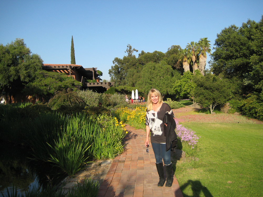 Terry at Rancho La Puerta
